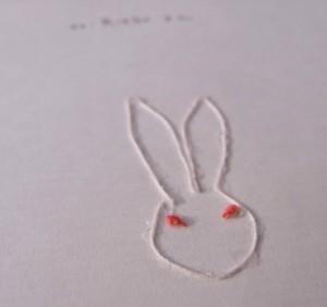 扉絵はウサギ
