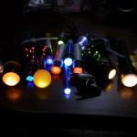 光のペン試作