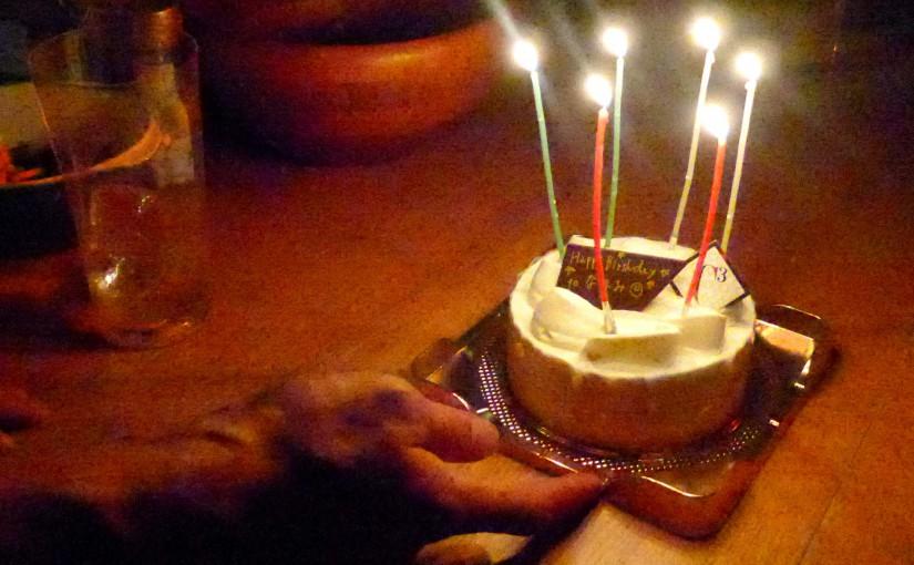 あの世へ、Happy Birthday to なほみ