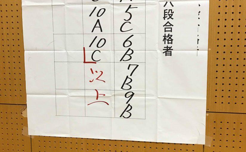 合格!杖道六段審査2019/08/02 13時