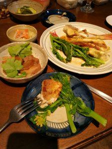 麹漬け魚やぬか漬け新鮮野菜