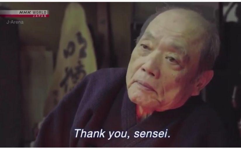 杖道界のジェダイマスター・ヨーダ、波止成徳先生亡くなる Namidome-sensei passed away